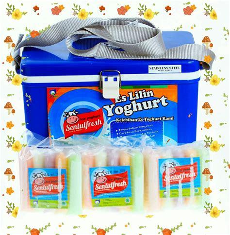 Es Lilin Yoghurt Sentulfresh es yogurt sentulfresh peluang usaha halal modal