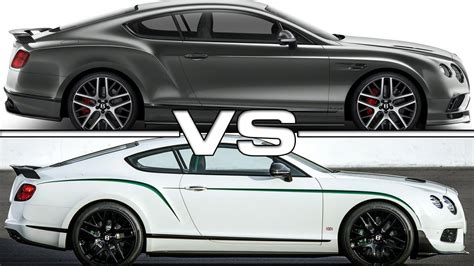 bentley gt3r 2017 2017 bentley continental supersports vs bentley