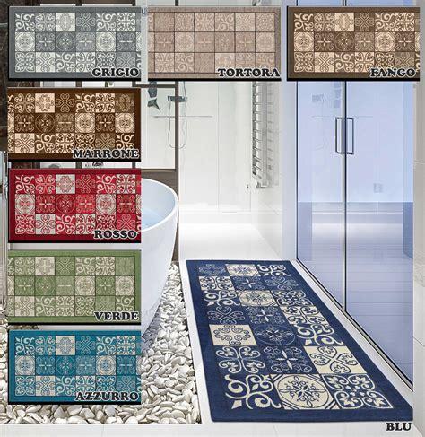 tappeto cucina centesimo web shop tappeto cucina multiuso maiolica