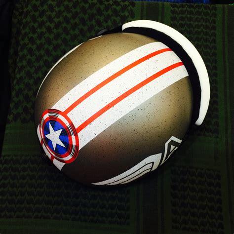 11 03 09 the hip hopcracy of america mũ bảo hiểm nửa đầu captain america armyhaus