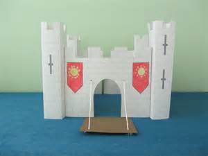 How To Make A Paper Castle - 3d paper castle project for