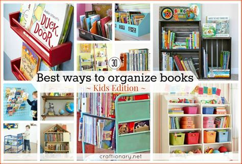 8 Ways To Arrange Your Books by Craftionary