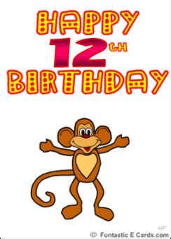 Birthday Cards For 12 Year 12 Year Old Birthday Quotes Quotesgram