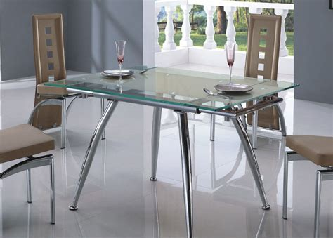 glass kitchen tables and chairs marceladick