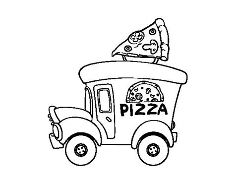 Pizza Hut Logo Black And White Sketch Coloring Page Pizza Hut Coloring Pages