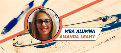 Insights Discovery Profile Mba Msm by Alumni Profile Amanda Leahy Mba Carey The Torch