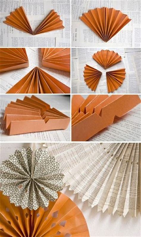 How To Make Paper Wheel Decorations - diy paper wheels backdrop will make beautiful paper fans
