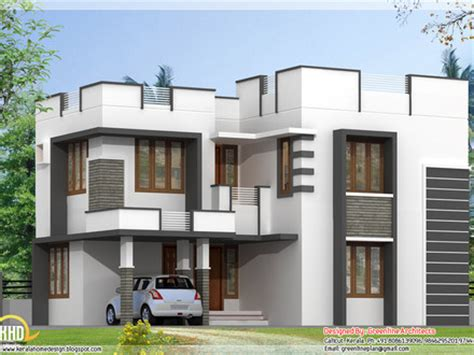 nice simple house design modern flat roof house designs mexzhouse com
