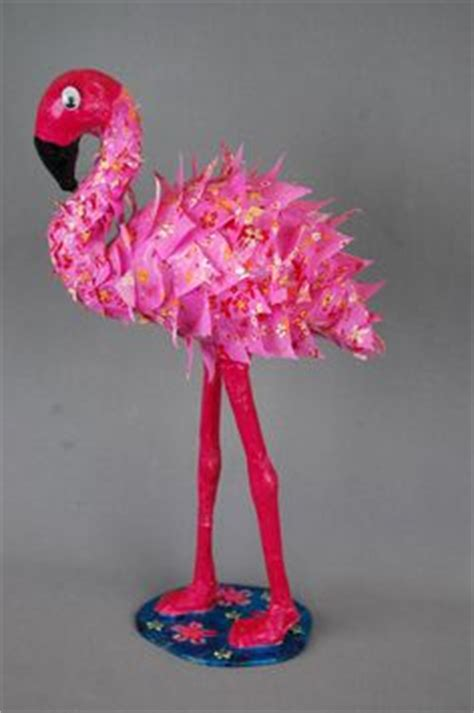 How To Make A Flamingo Out Of Paper - diy paper mache inspiration