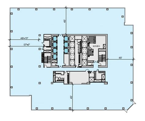 office tower floor plan world of architecture hudson yards new neighborhood for