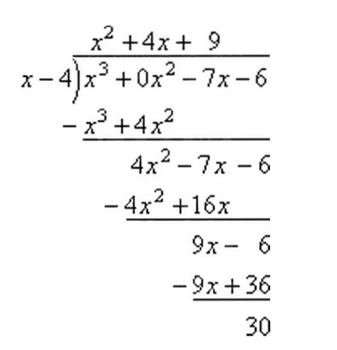 The Remainder Theorem Worksheet by Advanced Functions Remainder Theorem And Factor Theorem