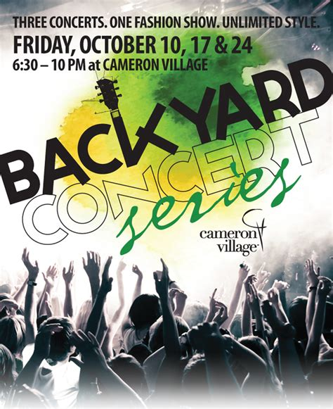 Backyard Concert by Local Weekend Events Food Trucks And