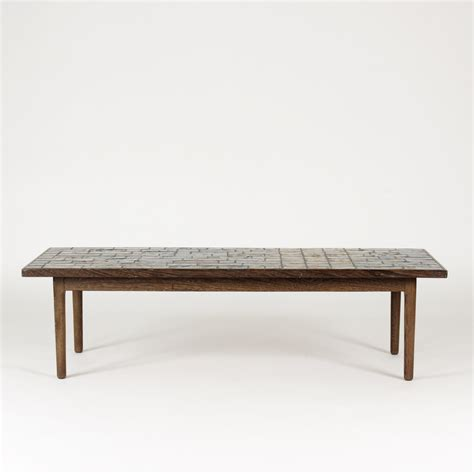Wenge Coffee Table Ceramic And Wenge Coffee Table By Bj 248 Rn Wiinblad