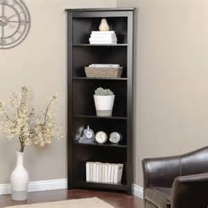 Black Corner Bookcase Cabinet Redford Black Corner Bookcase Traditional Bookcases By Hayneedle