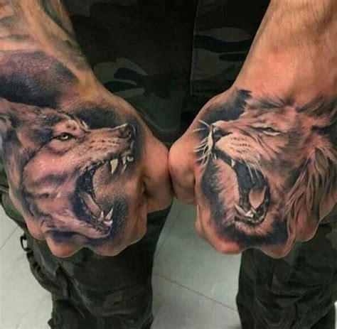 neck tattoo lion αποτέλεσμα εικόνας για tiger hand tattoo ideas