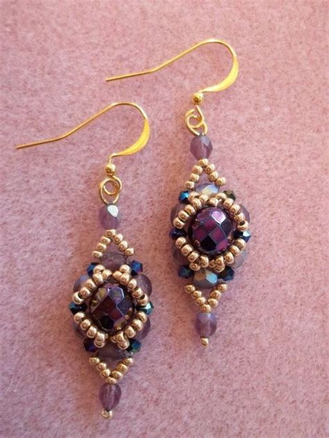 beaded path tutorials 25 best ideas about beaded earrings patterns on