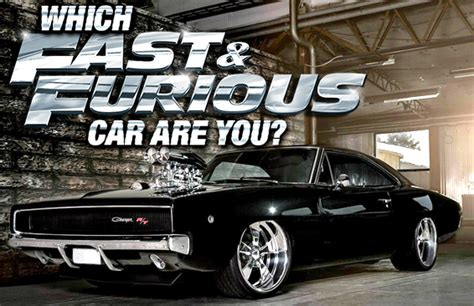 fast and furious quiz which character are you which fast and furious car are you brainfall com