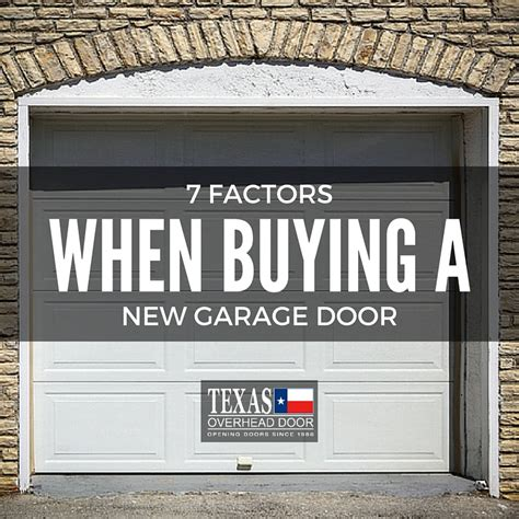 Buy New Garage Door 7 Factors To Consider When Buying A New Garage Door Overhead Door