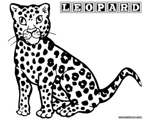 Leopard Coloring Pages Coloring Pages To Download And Print Leopard Coloring Page
