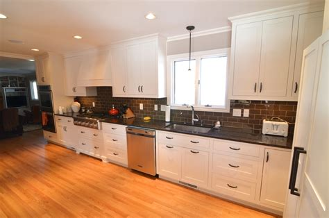 white kitchen cabinets with granite paramount granite blog 187 add a modern look with a brown