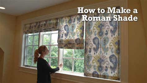how to make skylight curtains how to make a roman shade youtube