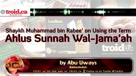 I Itiqad Ahlussunnah Wal Jama Ah benefit using the term salafi vs using the term ahlus sunnah wal jama ah
