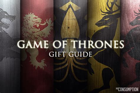 winter is coming the 23 greatest game of thrones gifts