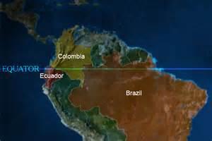 equator south america map news in pictures equator america america