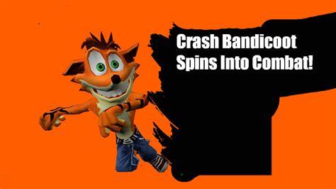 Crash Bandicoot Meme - crash bandicoot spins into combat super smash bros 4