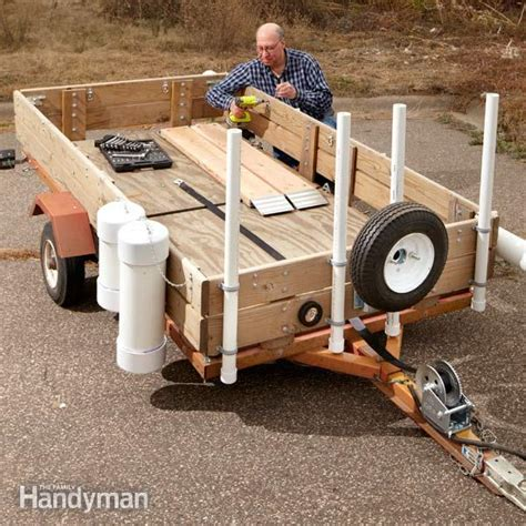 Adding Rv Style Door Latch To Enclosed Trailer - utility trailer upgrades the family handyman