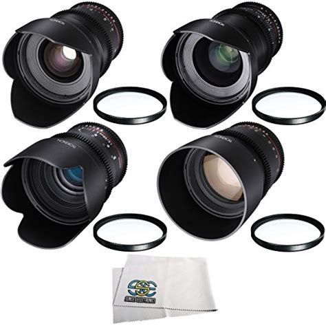 Kets Mm Abu Grosir Ds rokinon 24mm 35mm 50mm 85mm t1 5 cine ds lens kit for canon ef mount buy in uae
