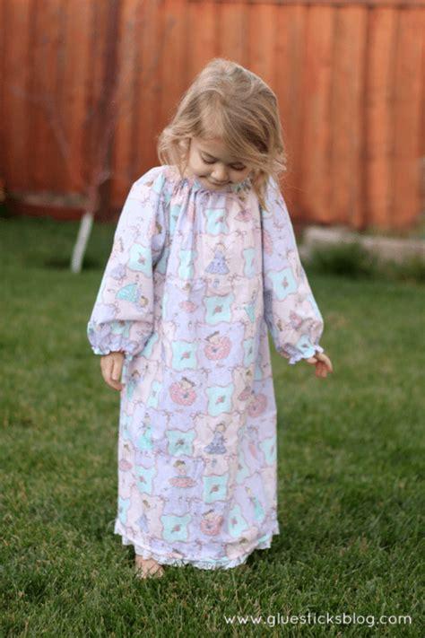 pattern for simple nightie 1 hour nightgown gluesticks