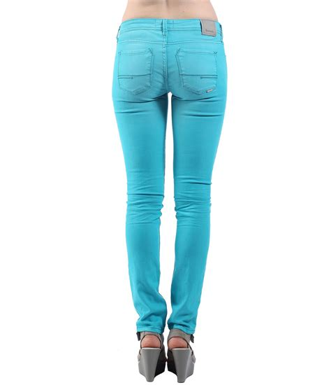 bench womens jeans bench womens fret v12 slim fit jeans in blue lyst