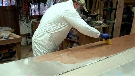 drift boat repair fiber glassing the side panels of a drift boat youtube