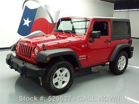 Used Jeep Wrangler For Sale In Michigan Sell Used 2011 Jeep Wrangler Sport Top 4x4 Automatic