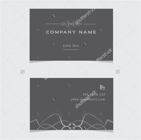 Fancy Business Cards Templates Free by 25 Fancy Business Card Templates Free Premium