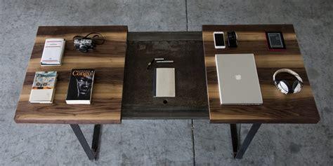 scrivania legno grezzo materiali grezzi e lavorazioni ricercate per la