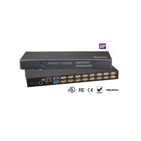 16 kvm switch ip kvm switch 16 combo db 15 cyberview