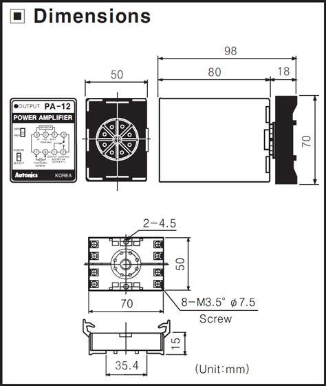 Socket Omron Pf08 Biasa sensor controller