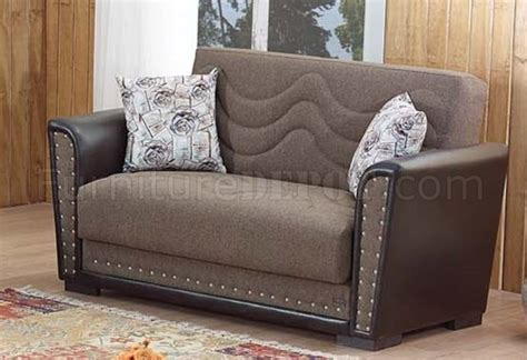 fabric sofa toronto toronto sofa bed in brown fabric by empire w options
