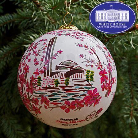 1980 white house christmas ornament 2017 national cherry blossom festival ornament