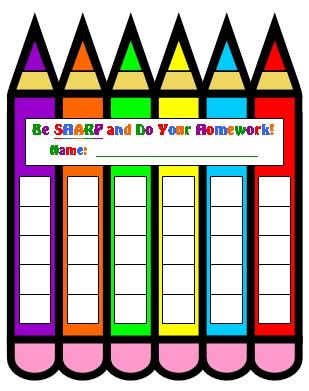 printable homework incentive charts sticker chart printable new calendar template