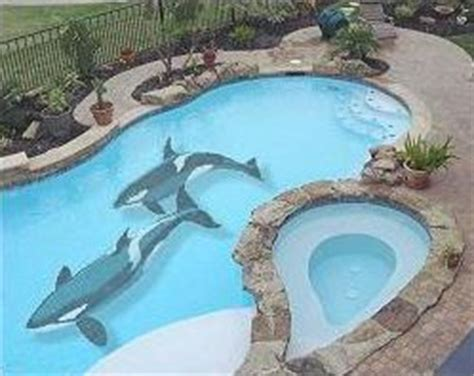 how to paint a mural in your pool intheswim pool