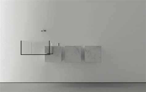 Design My Bathroom Free kub minimalist basin by victor vasilev architect