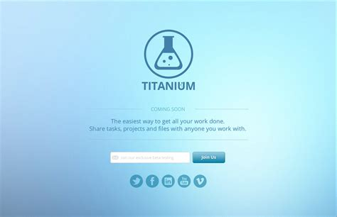 comming soon template titanium coming soon page html5 website templates on