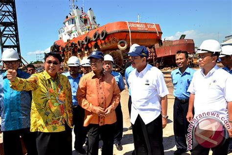 Mini 3 Di Makassar menperin indonesia masuki era terbaik industri galangan kapal antara news
