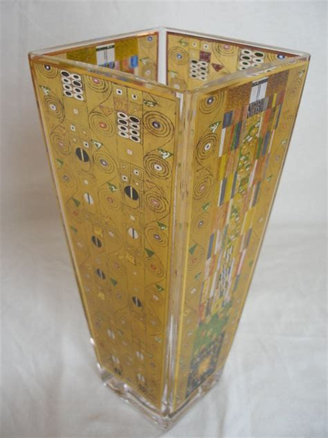 Gustav Klimt Vase by Goebel Artis Orbis Gustav Klimt G Vase Stocletfrieze