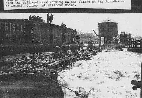 mill town milltown maine flood of 1923 187 frisco archive