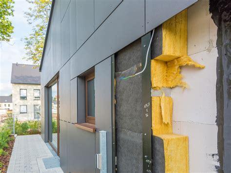 Fertighaus Fassadensanierung Kosten by Fassadenkonstruktion Fassade D 228 Mmen Und Hinterl 252 Ften