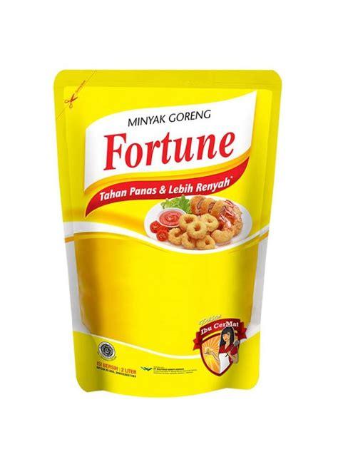 Minyak Goreng Fortune 1 Liter 1 Dus fortune minyak goreng refill pch 2000ml klikindomaret